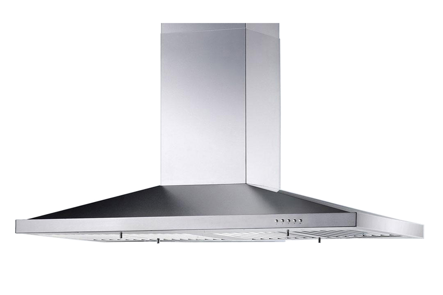 "36"" Island Stainless Steel Range Hood Vent Free Charcoal Filter"