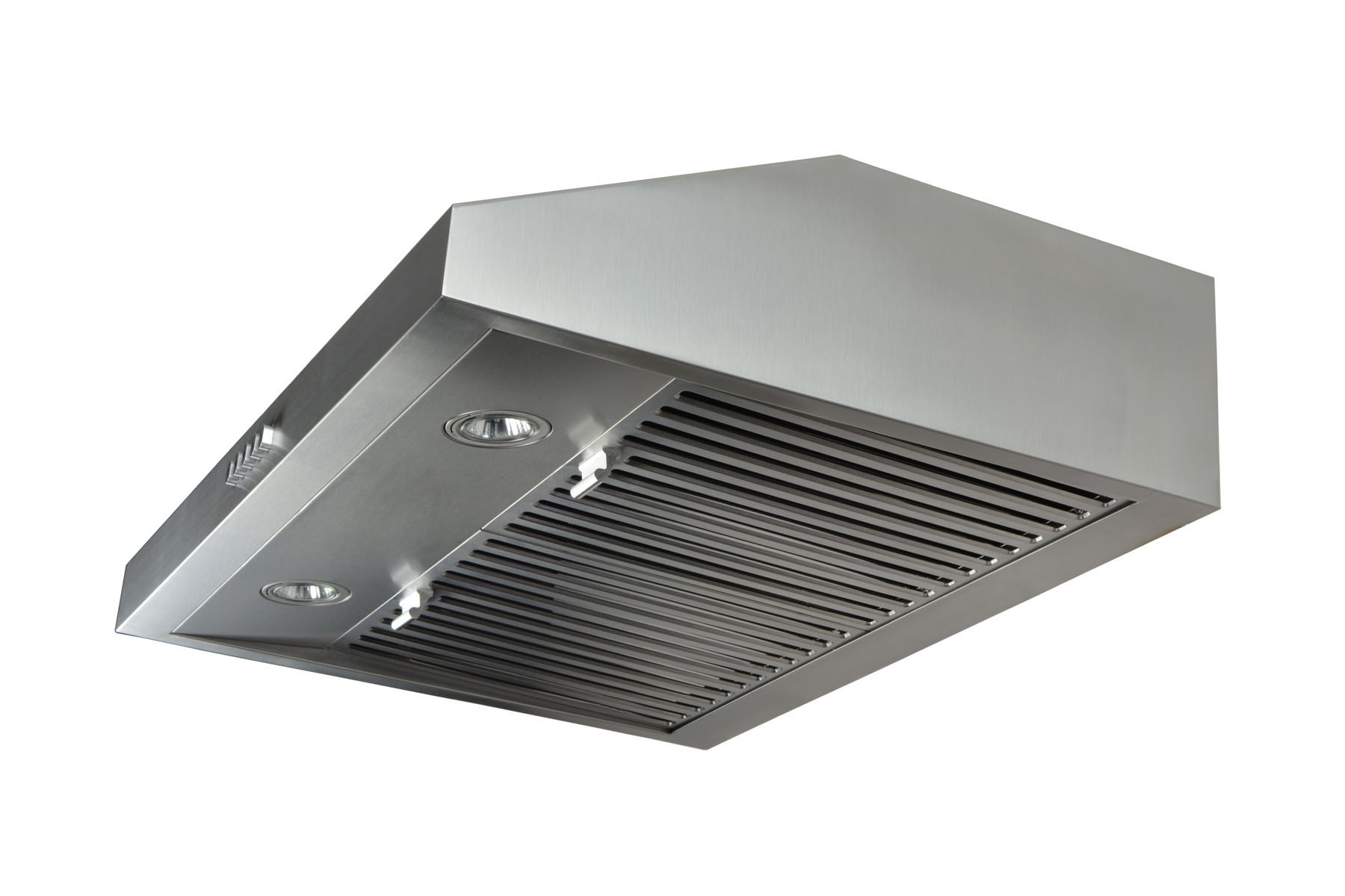 "30"" Wall Mount Stainless Steel Range Hood Single Motor Fan - Click Image to Close"