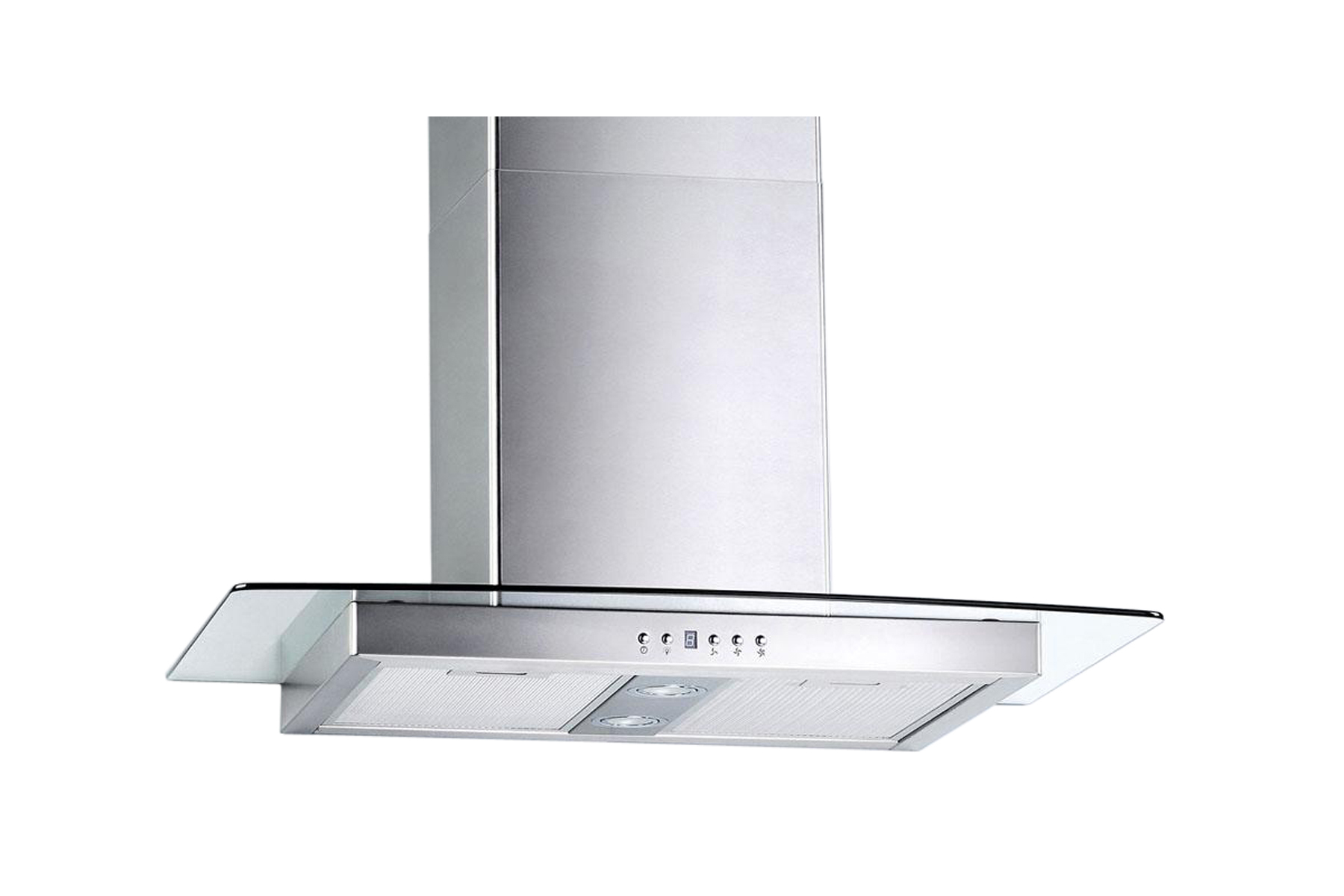 "30"" Wall Mount Stainless Steel Range Hood Vent Charcoal Filter"