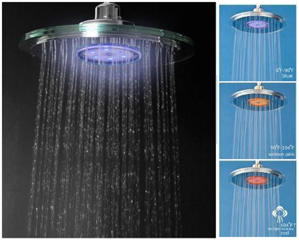 "Blue Ocean 9"" Overhead Shower Faucet Single Setting"