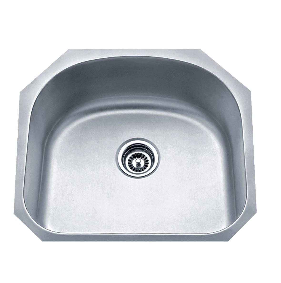 Blue Ocean 23 1 4 Kss861 16 Gauge Stainless Steel Undermount Kitchen Sink With Free Strainer